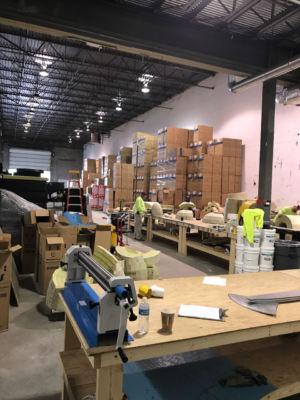 Axion Specialty Contracting Fabrication Shop